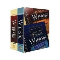 Comentário Bíblico Wiersbe 2 Vol + Bíblia Hebraica Português