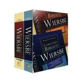 Comentário Bíblico Wiersbe 2 Volumes At E Nt