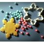 Cortante Frozen Copo De Nieve Cupcakes Pastillaje