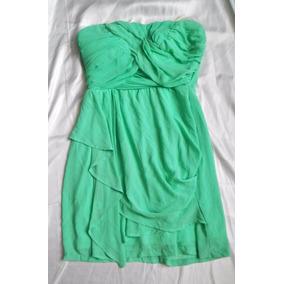 Vestido De Dia Fiesta Boda Jardin Verde Menta Mediano