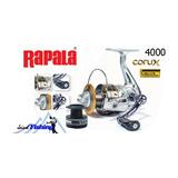 Carrete Rapala Corux 4000 (8 Rodamiento) Rio Y Lago