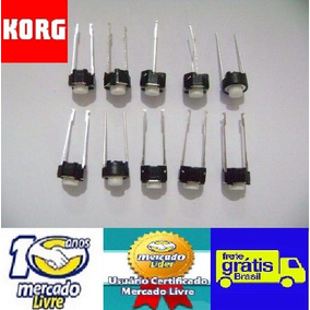 10 Microchaves Dos Botões Teclado Korg Pa50 Pa80 Pa60 Pa800