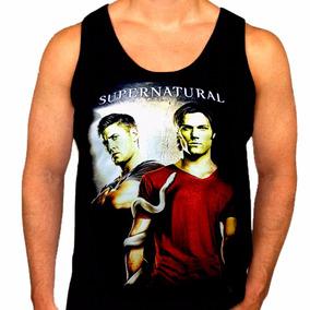 Camiseta Regata Supernatural Ref=347