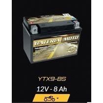 Bateria Moto Ytx9-bs Suzuki Bandit 650 N Ano 2005 / 2012