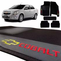 Jogo Tapete Bordado Carpete Automotivo Gm Chevrolet Cobalt