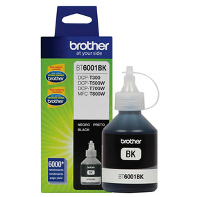 Refil De Tinta Preto Bt6001bk Brother 6000g