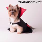 Capa De Vampiro Para Pet