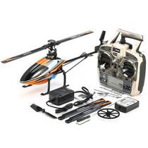Helicóptero V950 6ch 3d Brushless Flybarless Melhor Que V977