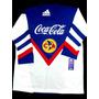 Jersey Retro América 80s Blanco