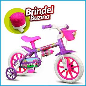 Bicicleta Criança A Partir 3 Anos Aro 12 Menina Violet Natho