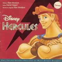 Cd Lacrado Disney Hercules Trilha Sonora Original Em Portugu