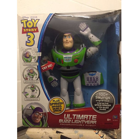 Buzz Lightyear Ultimate Voice Command Robot Rc Remote 42cm