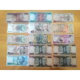 Coleção Dinheiro Antigo - Lote 59 Cédulas - Colecionador