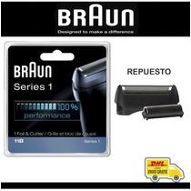 Braun Lámina De Repuesto Y Cuchilla De Corte 11b Para Serie1