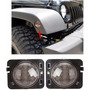 Luz Cuarto Lateral Led Para Jeep Wrangler Jk 2007 - Actual
