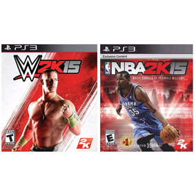 Nba2k15 + Wwe 2k15 Ps3 || Stock Ya! || Falkor!