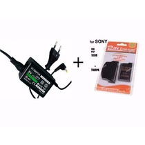 Carregador + Bateria + Tampa Psp 1000 Fat Sony 3.6v