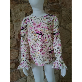 Camiseta Infantil Menina Outono/ Inverno Estampada 4,6,8,10