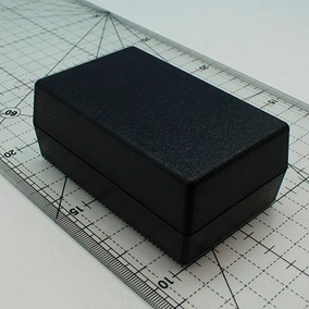 Caja Proyectos 92 X 58 X 38 Mm Color Negro
