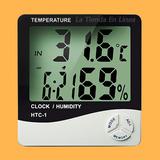 Reloj Termometro Higrometro Digital - Humedad Ambiente Htc-1