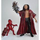 Hellboy - Rasputin + Baby Hellboy - Mezco