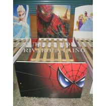 Cama Infantil Spiderman Araña Nene Varon