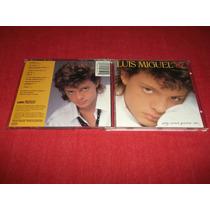 Luis Miguel - Soy Como Quiero Ser Cd Imp Ed 1989 Mdisk