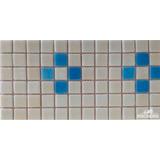 Cenefa Mosaico Borde Decorativo Piscina Celeste / Piscineria