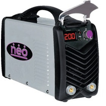 Soldadora Electrodo 200a Bi-voltaje, Neo