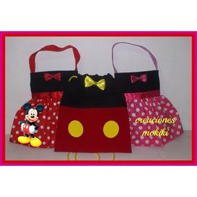 Dulcero Tutú _minnie Mouse Y Mickey Mouse