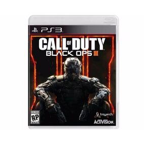 Jogo Novo Lacrado Call Of Duty Black Ops 3 Pra Playstation 3