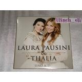 Laura Pausini & Thalia Sino A Ti Warner 2014 Cd Promo Nuevo