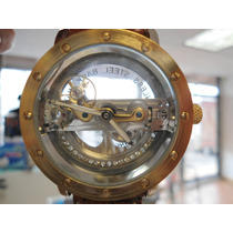 Reloj Hollow Transparente, Cristal Por Ambos Lados Automatic
