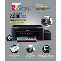 Impresora Epson L375 Sistema Continuo De Tinta Nuevas