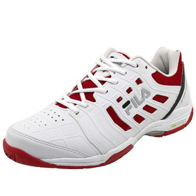 Tênis Masculino Aftershock Branco/vermelho Fila - 12t041x