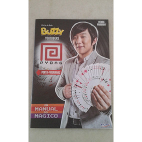 Álbum Buzzy Youtubers Pyong Vazio Excelente Estado