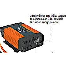 Convertidor De Corriente Auto1000 W Dual 12 A 120 Volts Usb