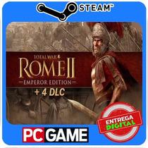 Total War: Rome Ii - Emperor Edition + 4 Dlc Steam Cd-key