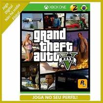 Gta V Grand Theft Auto Xbox One [joga Online] Leg. Pt Br!