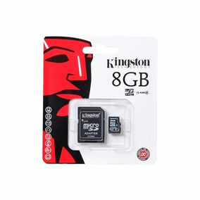 Memoria Flash 8 Gb Micro Sd Hc Adaptador Sdc4/8gb Kingston