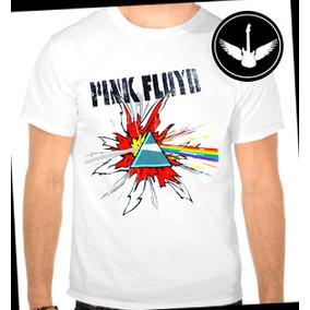 Camiseta Pink Floyd Prisma Baby Look Regata Banda Rock Blusa