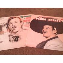 Discos Acetato De Pedro Infante 15 Inmortales