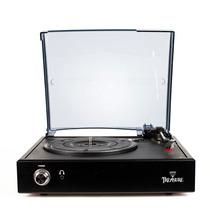 Vitrola Toca Discos Treasure Black - Echo Vintage