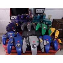 Nintendo 64 Completo,n64,con 2 Juegos,garantía,envió Gratis!