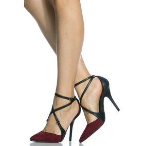 Sandalias, Tacones Importados, Zapatos Ejecutivos Dama 37.5