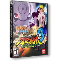 Naruto Shippuden Ultimate Ninja Storm 3 Full Burst - Pc Dvd