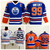 Camisa De Hockey Edmonton Oilers 99 Wayne Gretzky