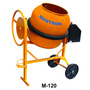 Betoneira 120 Litros M-120 Maqtron 1/3cv C/ Chave -mach Mill