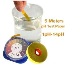 Papel Ph Prueba Ácido Alcalino 5mt Acuario Laboratorio