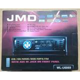Estereo Jmd Wl-u6869 4x15w Cd/sd/mmc/usb/mp3/fm Ctrl Remoto